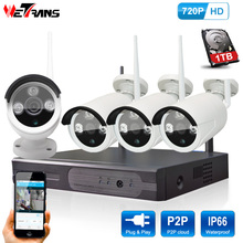 Wifi Camera System NVR Kit Plug Play P2P Home Video Surveillance 960P HD Night Vision IP Security Camera System Wireless Outdoor