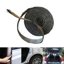 цена на Self Adhesive Automotive Rubber Seal Strip for Car Window Door Engine Cover Car Door Seal Edge Trim Noise Insulation
