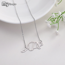 My Shape High Quality Stainless Steel Animal Pendant Decorate Unisex Necklaces