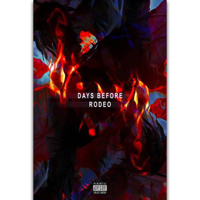 US $5 22 5% OFF|S707 Album Cover Days Before Rodeo Travis Scott Rapper Star  Rap Wall Art Painting Print On Silk Canvas Poster Home Decoration-in