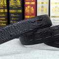 Moda Casual hombres de Cuero y Cinturones de PU de Alta Calidad Sin Hebilla Cinturones de Diseño Emparejado Para Suave y Hebilla
