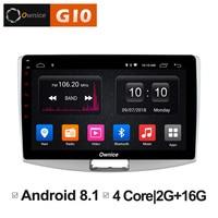 10.1 Android 8.1 Unit Car Radio DVD Smart Multimedia player GPS Navigator For Volkswagen CC Magotan 2012 2013 2014 2015 2016