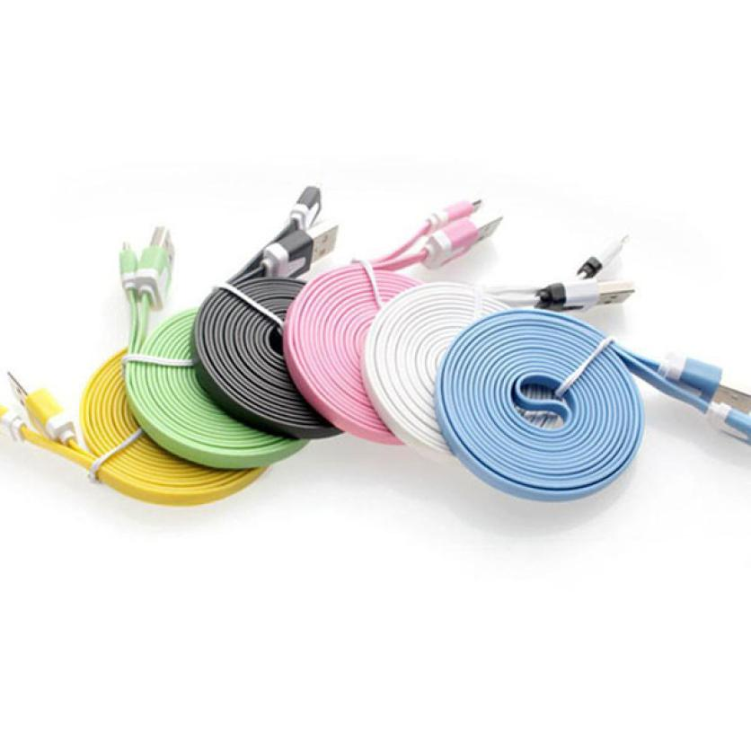 newMicro USB Cable Data Sync Charger Cord Fabric For Android Phone 1M usb extension cable cable mini usb usb cable extension max length retractable 2m 7ft usb 2 0 a male to mini usb b 5pin male curl coiled spring data sync charge cable cord
