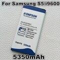 Bateria de 5350 mah eb-bg900bbc para samsung galaxy s5 i9600 g900s g900f g9008v 9006 v 9008 w 9006 w