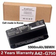 KingSener Korea Cell A42-G750 Laptop Battery for ASUS ROG G750 Series G750J G750JH G750JM G750JS G750JW G750JX G750JZ 15V 88WH
