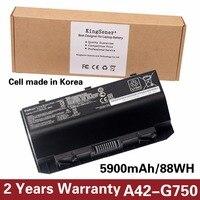 15V 5900mAh KingSener New A42 G750 Laptop Battery For ASUS G750J G750JH G750JM G750JS G750JW G750JX