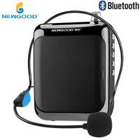 FREE SHIPPING NEWGOOD N 81 FM Radio Support Professional Voice Amplifier Speakers With TF Card Music