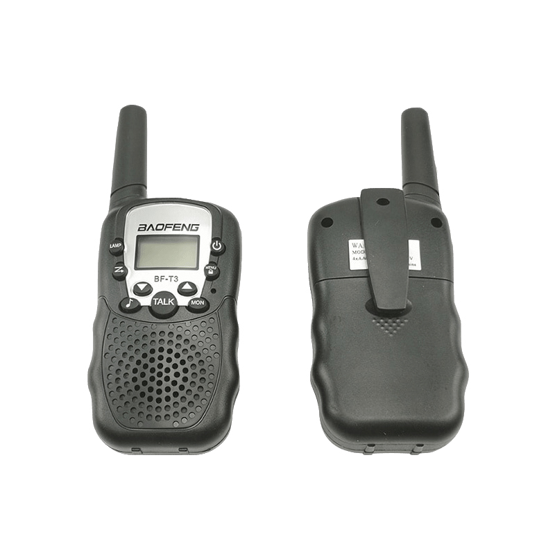 2pcs Wholesale Children Mini Kids UHF Walkie Talkie BF-T3 Baofeng FRS Two Way Radio Comunicador T3 Handy Talkie Hf Transceiver Pakistan