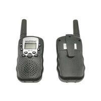 שני הדרך רדיו uhf 2pcs סיטונאות ילדים מיני ילדים UHF מכשיר הקשר BF-T3 Baofeng FRS שני הדרך רדיו Comunicador T3 Handy Talkie משדר Hf (4)
