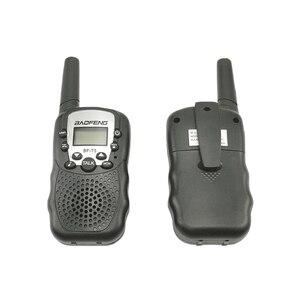Image 3 - 2pcs Wholesale Children Mini Kids UHF Walkie Talkie BF T3 Baofeng FRS Two Way Radio Comunicador T3 Handy Talkie Hf Transceiver