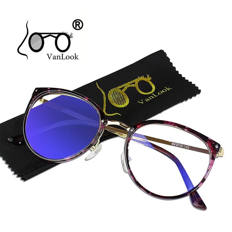 Femmes Transparent Lunettes pour L'ordinateur de Points Hommes Spectacle Cadre Rond Oculos de Grau Feminino Anti Blueray Lunettes