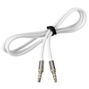 3,5 мм мини стерео разъем к разъему Aux кабель папа к мужчине аудио вспомогательный свинцовый нейлоновый Плетеный ПК Автомобильный MP3 удлинитель провод Aux шнур