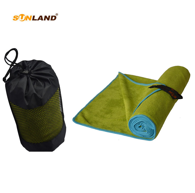 3PC LOT 100cmx180cm Microfiber Ultra Absorbent weft knitting Hair Hand Towel Travel Camping Gym Towel bath