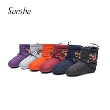 Sansha – bottines de danse imperméables pour adultes et enfants, chaussures chauffantes de Ballet, pantoufles à Pointe, Protection WOOZ1AGP