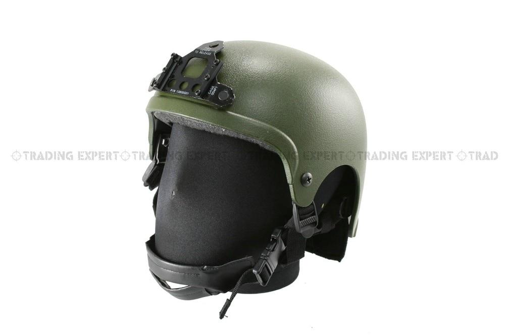 SEAL Motorcycle Helmet Team IBH Helmet OD Green