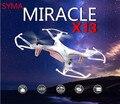 2015 chegada nova Syma X13 tempestade RC Mini Drone helicóptero 2.4 G 4CH 6-Axis Quadcopter com 3D Flips brinquedo de controle remoto