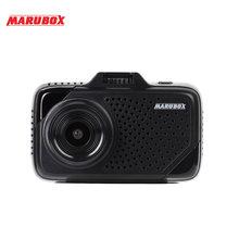 Marubox wideorejestrator samochodowy 3 w 1 kamera samochodowa M650R języka rosyjskiego podpis Radar wykrywający DVR GPS HD1296P 170 kąt wideorejestrator