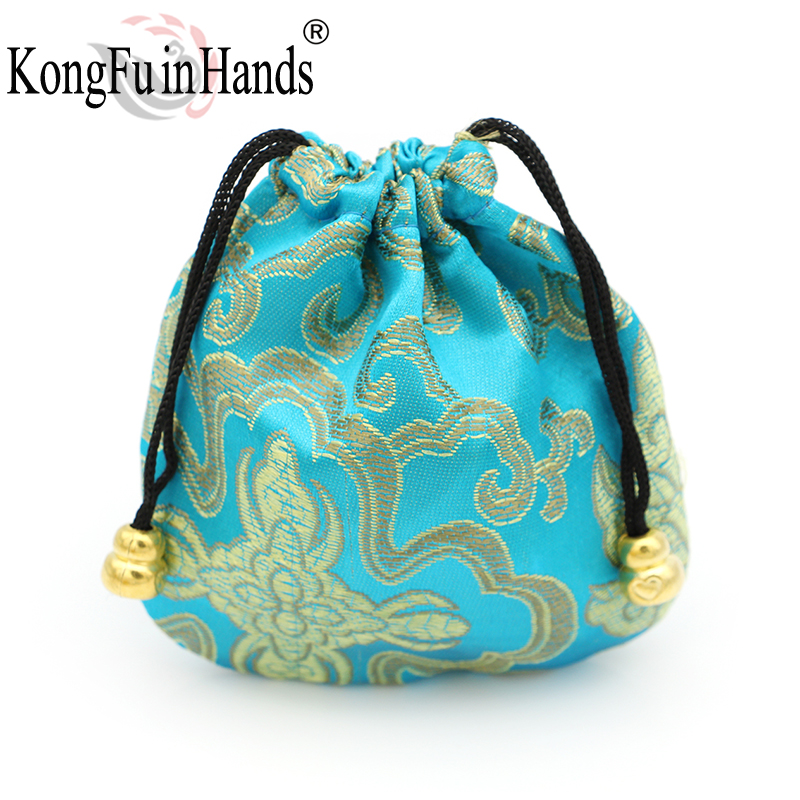 Vintage Handmake Drawstring jewelry collection Bags bracelet necklace rings gift Package Accessory Small Storage Cloth pouches in Jewelry Packaging Display from Jewelry Accessories