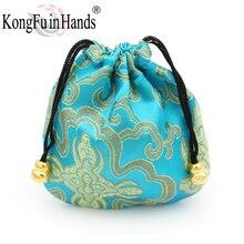 Купить с кэшбэком Pattern Drawstring Bags Gift Package Bags Drawstring Reusable Home Decor Fabric Cloth Bag Sundry Kids Toy Small Storage Bag