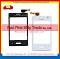 """Alta qualidade 3.0 """" para LG Optimus L1 II E410 Touch Sensor digitador da tela de lente de vidro painel preto branco + número de rastreamento"""