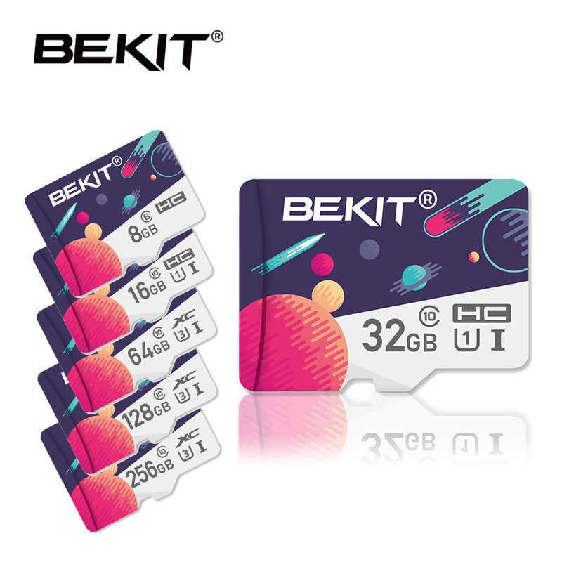 Bekit carte micro sd 32gb 64gb 128gB 256gb 16gb 8gb carte mémoire carte microsd SDXC SDHC classe 10 lecteur Flash pour smartphone caméra
