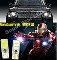 2x T10 W5W LED Side Marcador Luzes Lâmpadas Lâmpada de Estacionamento Para Land Rover Discovery Range Rover Evoque Freelander