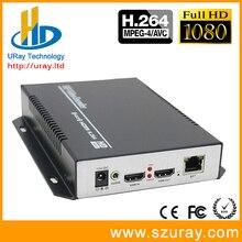 1080 P 1080I 50fps 60fps H.264 HD HDMI Codeur pour IPTV, IP Codeur H.264 Serveur IPTV Codeur RTMP UDP HDMI à IP Audio Vidéo