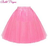 Swing Vintage Skirt 2016 Women Short Wedding Petticoat Bridal Underskirt Crinoline Skirts Rockabilly Tutu Plus Size