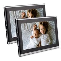 Twin 10.1 Inch Car Auto Headrest DVD Player Dual Screen Monitor Rear Seat Entertainment For Kids With HDMI USB SD Port