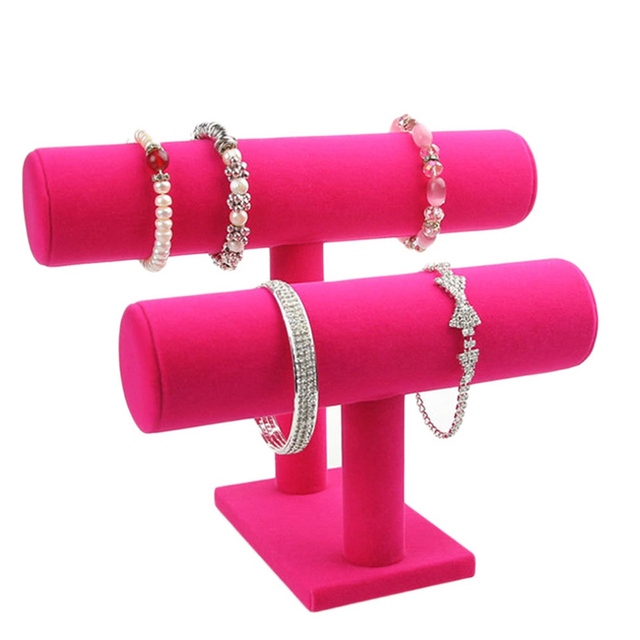 2 3 Tier Bracelet Holder Watch Necklace Jewelry Bangle Display Stands Gift For S
