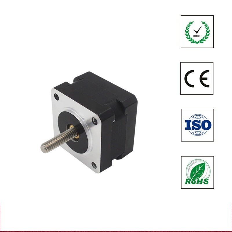 39BYG Motor Mixed Type Screw Shaft Stepping Machinery Electric Two Mutually Four Line Double Extension Shaft Motor