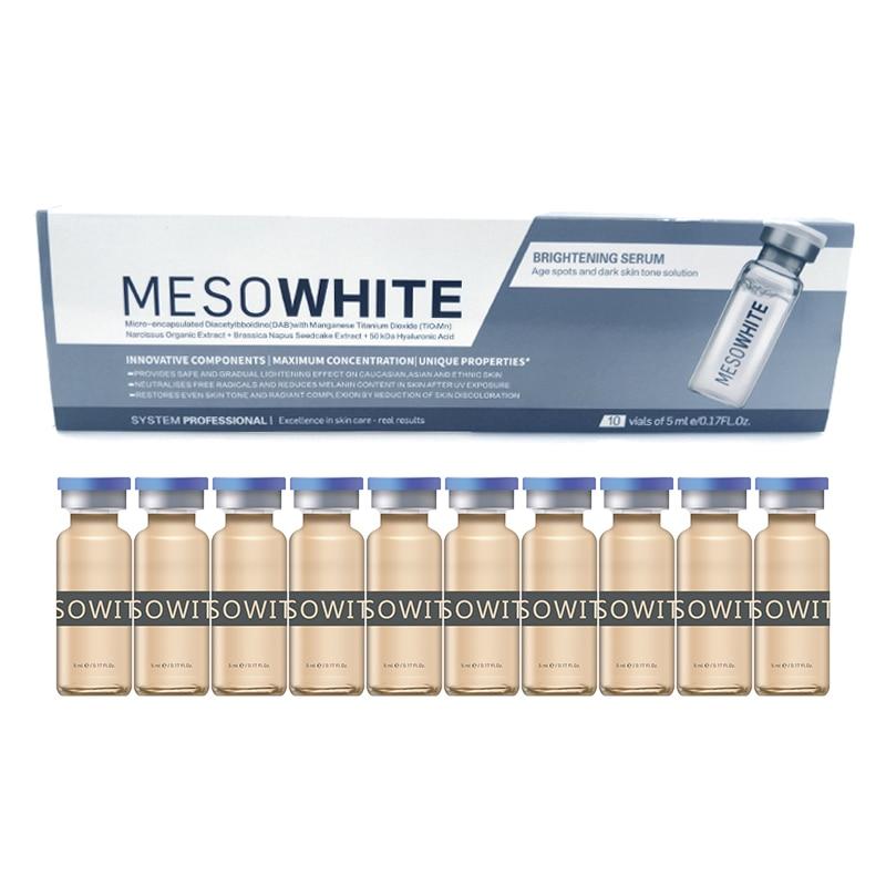Korean Makeup Kit 10pcs/set 5ml BB Cream Meso White Brightening Serum CC Natural Nude Glow Concealer Makeup Foundation