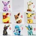 8 Styles 5'' Umbreon Eevee Espeon Jolteon Vaporeon Flareon Glaceon Leafeon Plush Toys Soft Stuffed Animals