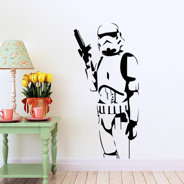 Exceptional Buy Star Wars Darth Vader Vinyl Big Wall Stickers Wall Decals Home Decor  Wall Art Decal Mural Free Shipping From Reliable Art