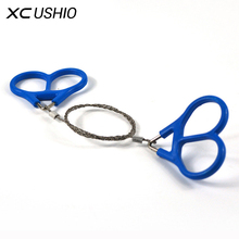 Emergency Survival Gear Stainless Steel Wire Saw Hand Chain Saw Safety Survival Fretsaw ChainSaw Emergency