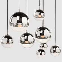 Plated ball pendant light glass ball lamp living room lamps bar lamp stair lamp icepoint american style resturant pendant lamp vintage glass candle pendant lamp clothes store living room hotel lamps