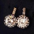 Clássico Sparkly Zircon Brincos Para Mulheres Bijoux Nova Moda Jóias Por Atacado Bonito Presente