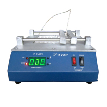 Puhui T8120 Constant temperature infrared preheater 800W PID Intelligent Controlling Temperature Preheating Station