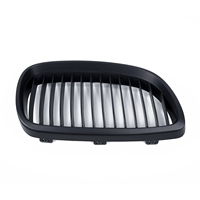 1 Pair Grilles Couple For 06 09 BMW E92 E93 M3 2 Dr Kidney Grill Durable Practical Flexible