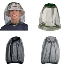 New Outdoor Fishing Cap Midge Mosquito Insect Hat Fishing Hat Bug Mesh Head Net Face Protector Travel Camping Cap Hats H5(China)