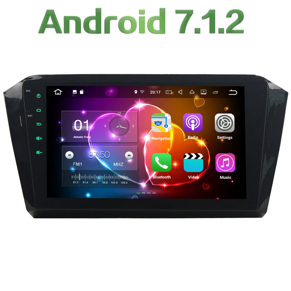 Android 7 1 2 Quad Core 2GB RAM 16GB ROM FM USB SD Bluetoot MP4 Car