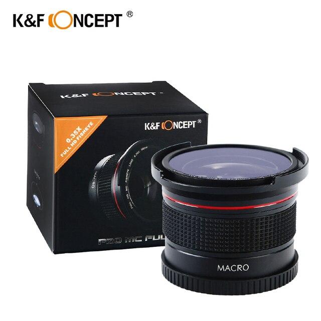 58MM FHD 0.35x Fisheye Macro Wide Angle Camera Lens Multi-Coated Blue Layers Lenses For Nikon d3300 Canon 6d 600d Fujifilm DSLR 10