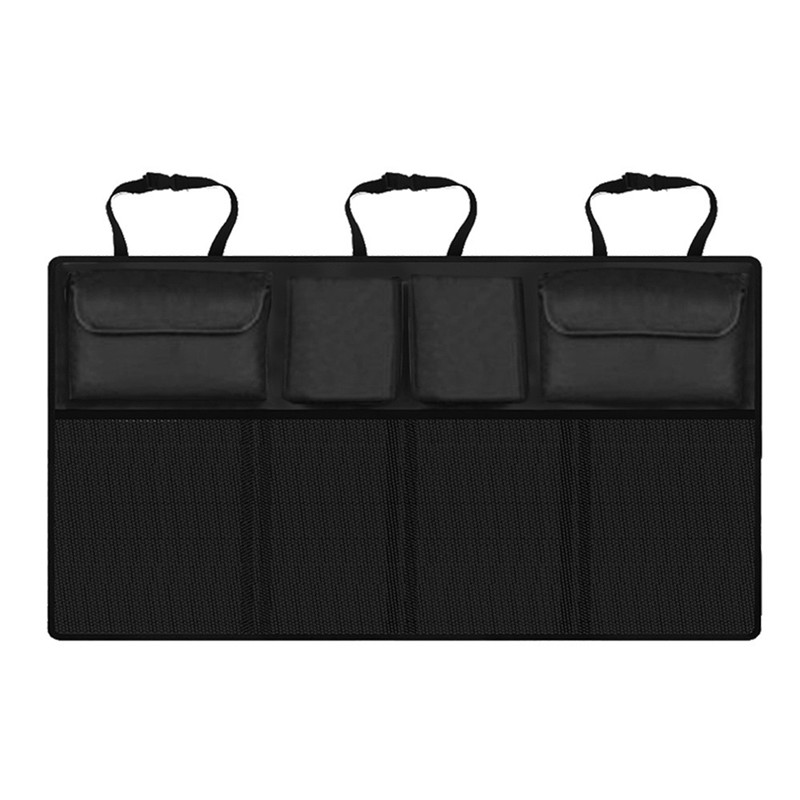 Auto Trunk Organizer Einstellbare Rücksitz Lagerung Tasche Multi-verwenden Oxford Automobil Sitz Zurück Organisatoren Universal Flasche Tasche