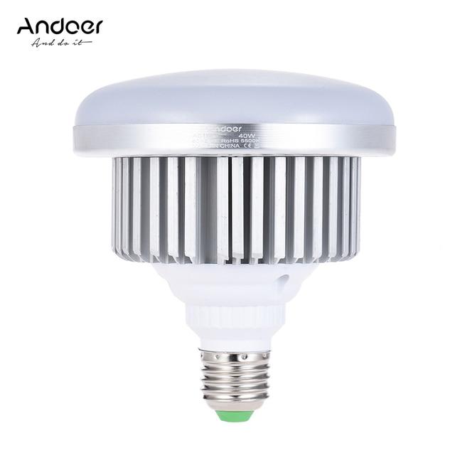 Andoer E27 40 Watt Energiesparende Led lampe Lampe 3200 Karat/5500 ...
