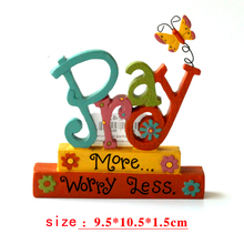 """Christian Gifts """"Pray More Worry Less"""""""