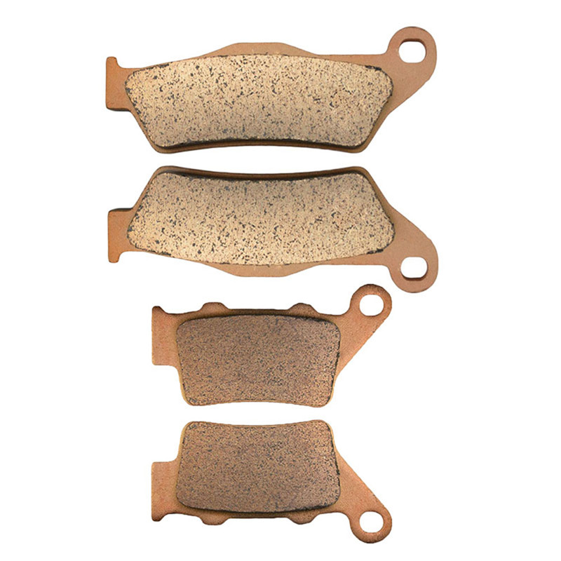 Motorcycle Front and Rear Brake Pads for KTM EXC EGS EXE LC2 SM SX MXC LC4-E 620 LC 640  motorcycle front and rear brake pads for ktm egs lse exc 400 all models 1998 2006 black brake disc pad