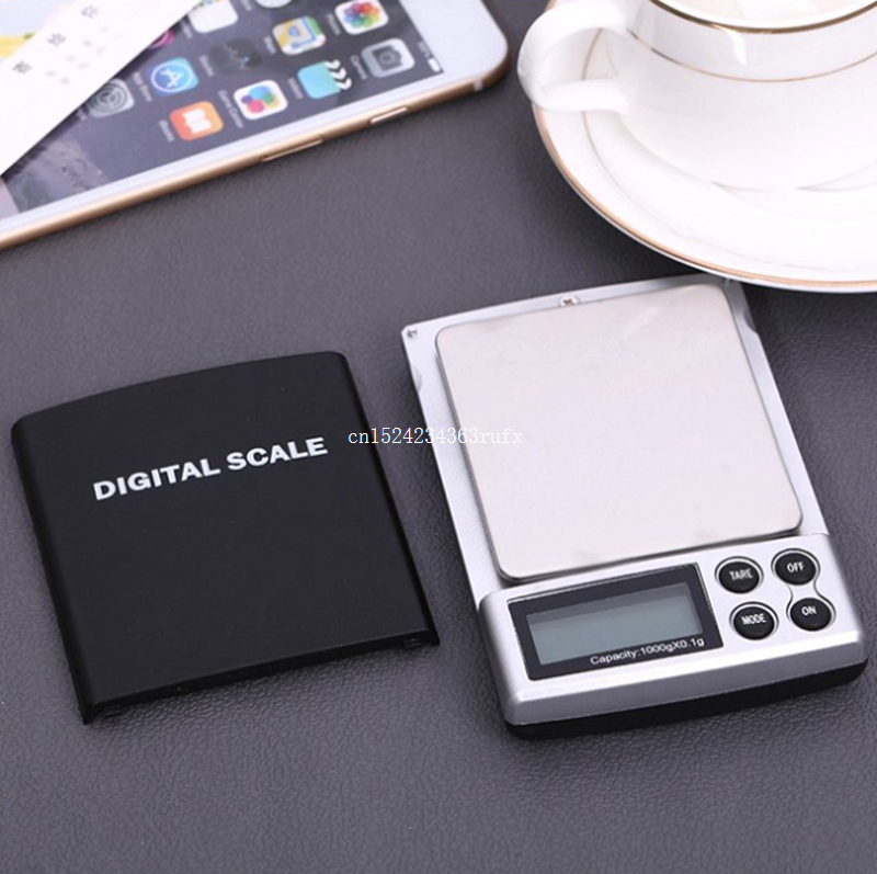 200pcs 1000g x 0 1g Mini Pocket Digital Scales Balance Electronic Kitchen Scales Gold Sterling Silver