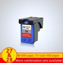 XiangYu сменный картридж для принтера для hp 27 28 для 27 XL 28 XL для hp 27 для hp 28 чернилами hp Deskjet 3550 3650 3740 3845