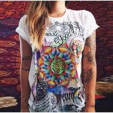 Ctater 2017 Summer Rock Punk Tops Tees Ladies Short Sleeve T Shirt Women T-Shirt Dress Cotton Female Tshirt Vetement Femme