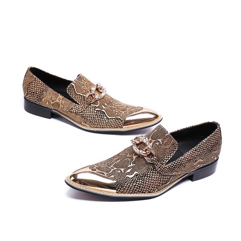 Se Homens Dourado Os Tamanho Oxford Moda Sapatos Festa Ouro De Para 46 Casamento Vestem Dos Camurça prata {zorssar} Formal Metal Toe Negócios RgOIWw